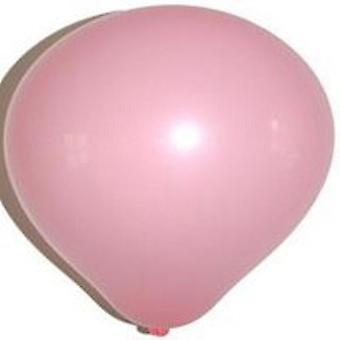 Zak met 100 ballons no. 12 rose