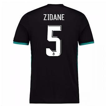 2017-18 real Madrid borta tröja (Zidane 5)