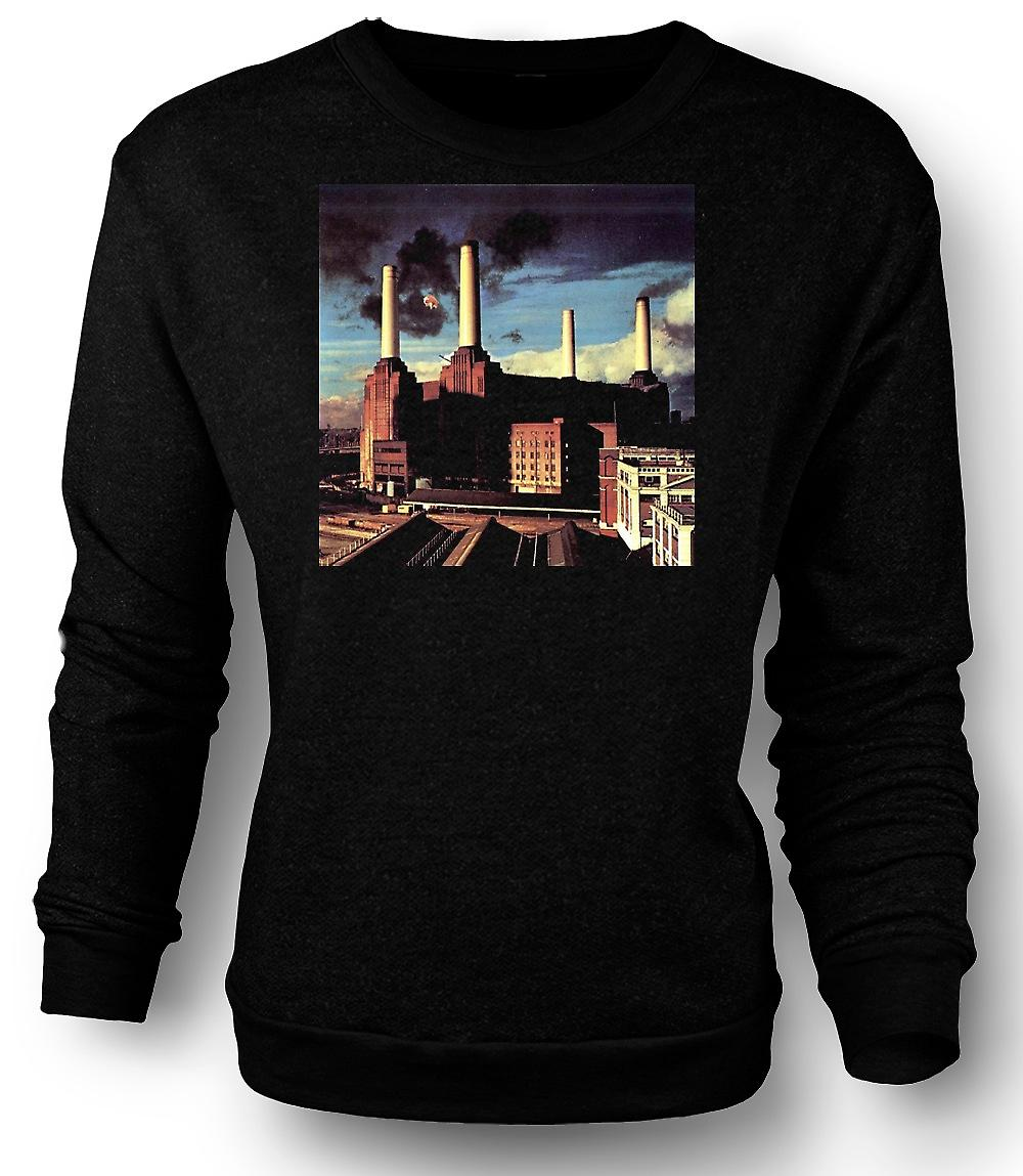 Mens Sweatshirt Pink Floyd - Animals Rock