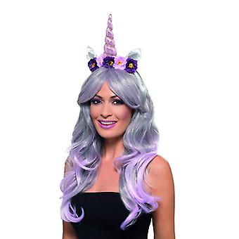 Einhorn Haarreif Haarband Karneval Accessoire Unicorn