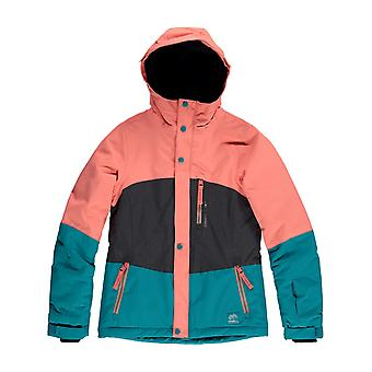 Oneill Fusion Coral Coral Girls Snowboarding Jacket