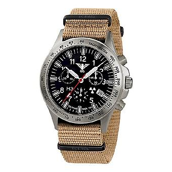 KHS watches mens watch platoon titanium chronograph KHS. PTC. NT