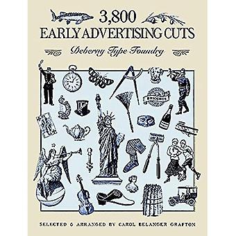 3800 Early Advertising Cuts (Dover Pictorial Archive)