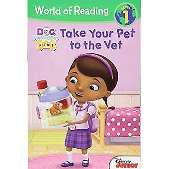 Doc McStuffins ta ditt husdjur till veterinären (World of Reading: nivå 1)