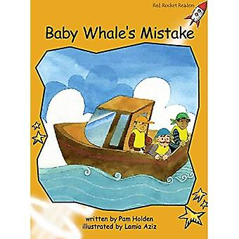 Baby Whale's Mistake: Level 4: Fluency (Red Rocket Readers: Fiction Set A)