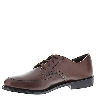 Executive Imperials Mens Leather Slip On Dress Oxfords