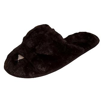 Slumberzzz Womens/Ladies Rabbit Slippers