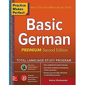 Practice Makes Perfect: Basic German, Second Edition