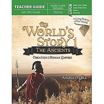 World's Story 1: The Ancients (Teacher Guide): Creation to the Roman Empire (World's Story)