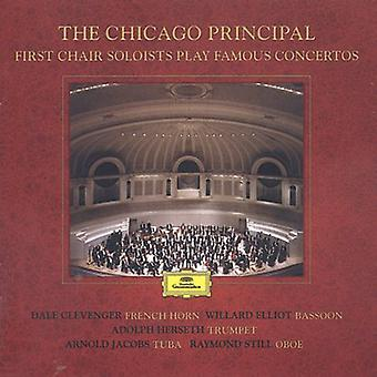 Chicago Symphony Orchestra - The Chicago Principal: First Chair Soloists Play Famous Concertos [CD] USA import