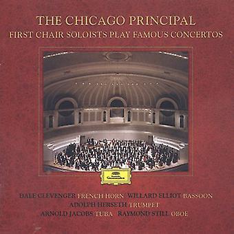 Chicago Symphony Orchestra - Chicago-Prinzip: Erste Chair Solisten spielen berühmte Konzerte [CD] USA import