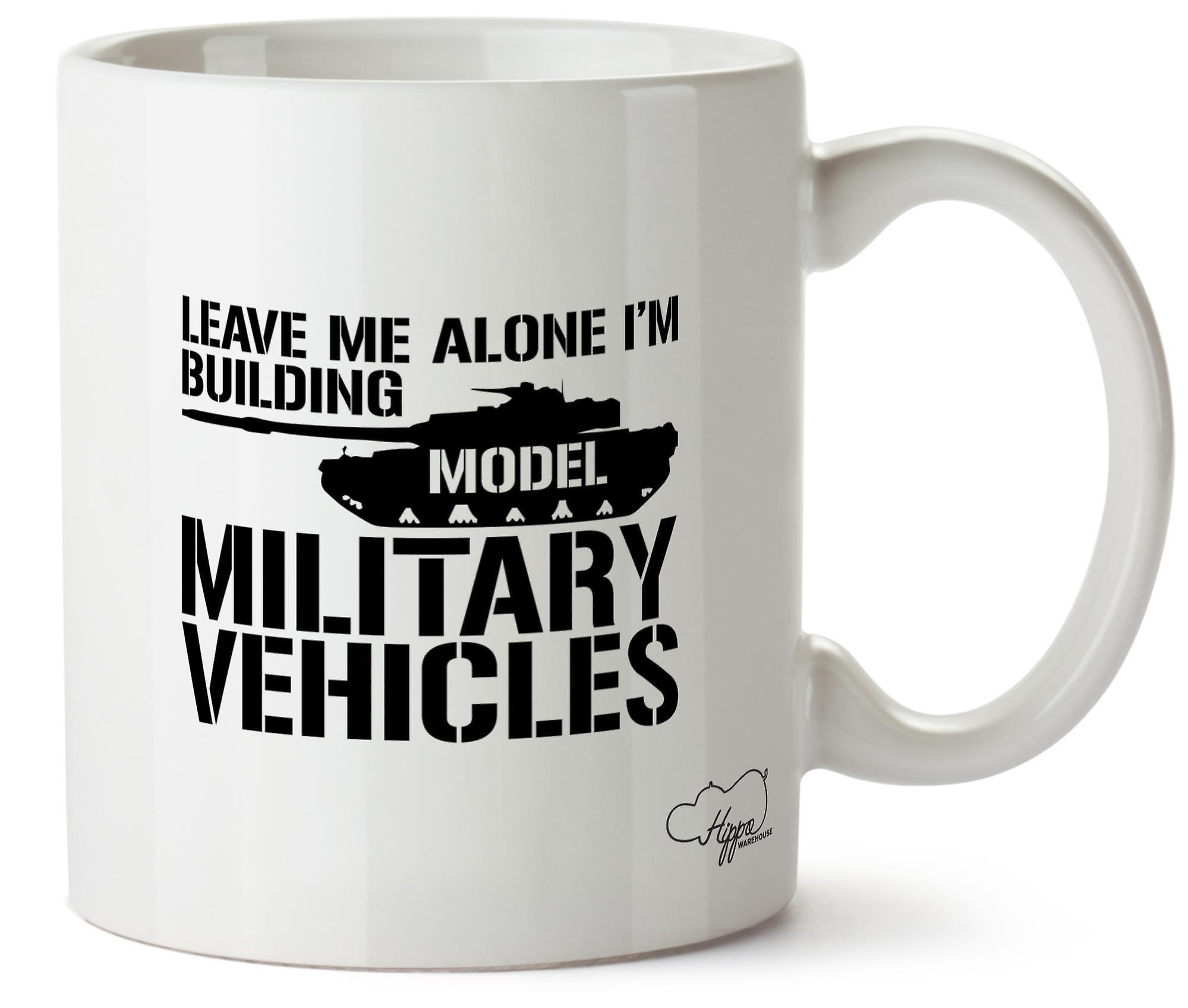 Je Seul Imprimés Céramique Véhicules En 10oz Moi Modèle Laissez Construis Militaires Tasse Hippowarehouse Mug qzpMSUV