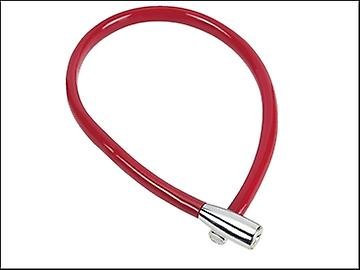 ABUS 1900/55 Recoil Keyed Cable Lock 6mm x 55cm Coloured