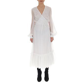 Off-white White Viscose Dress