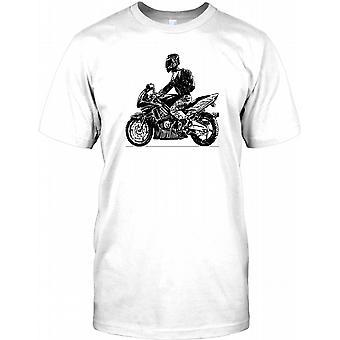 Cool motorcykel Biker Design Herre T-shirt
