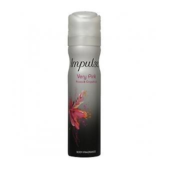 Impulse Bodyspray Very Pink 75Ml