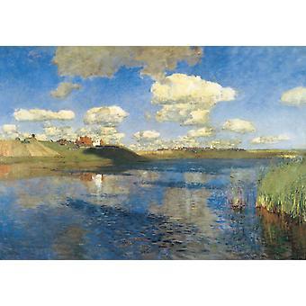 Innsjøene. Rubland, Isaak Levitan, 60x42cm