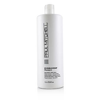 Paul Mitchell Invisiblewear Shampoo (Preps textura-construye volumen)-1000ml/33.8 oz