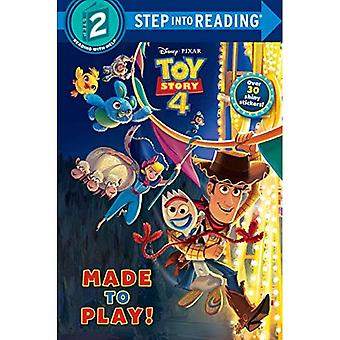 Made to Play! (Disney/Pixar� Toy Story 4) (Step Into Reading)