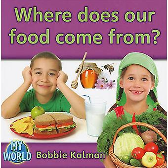 Where Does Our Food Come From? by Bobbie Kalman - 9780778795902 Book