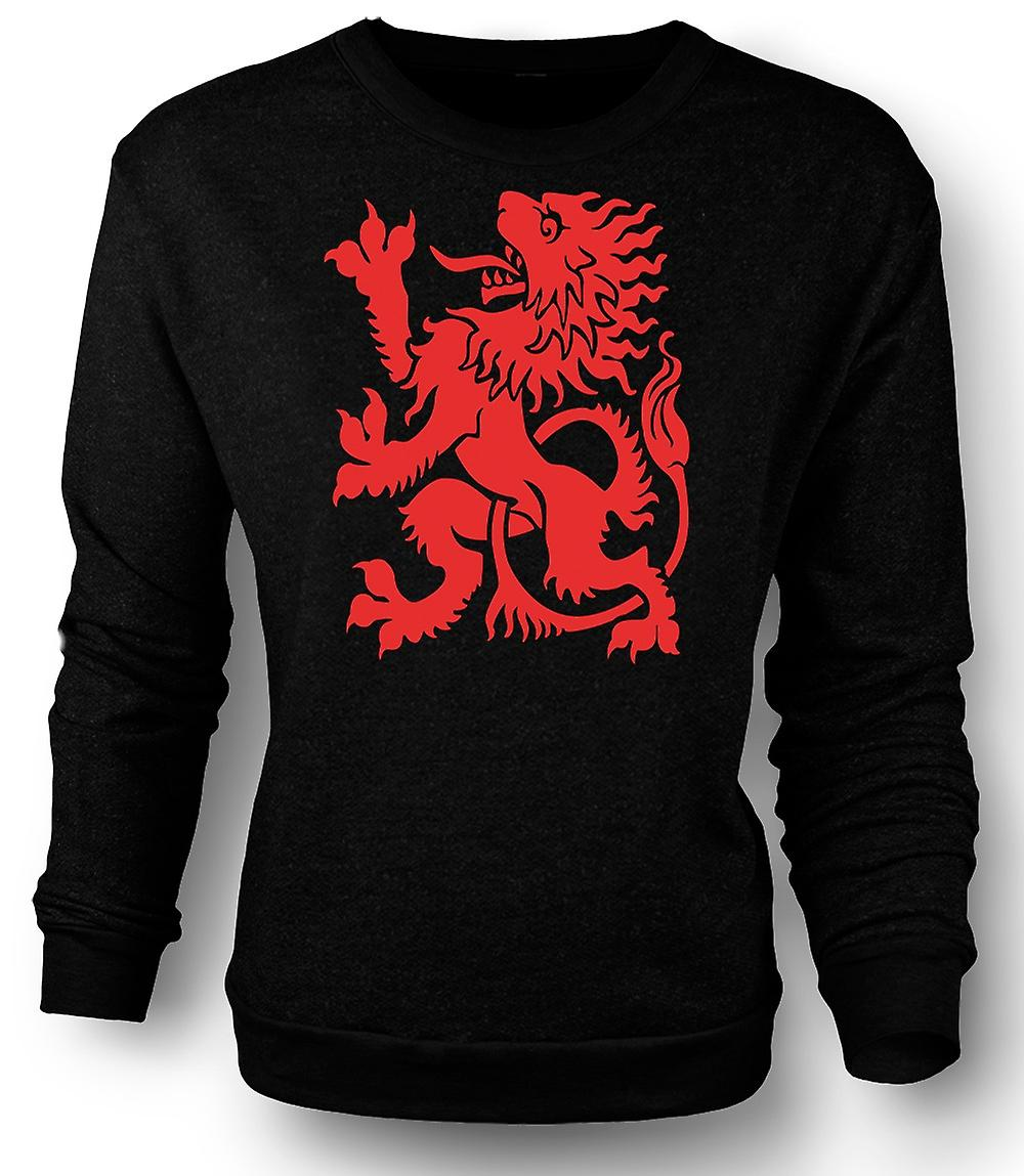 Mens Sweatshirt I Love Wales
