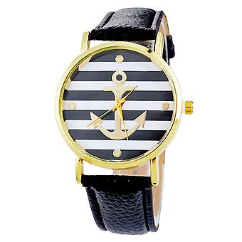 Emma Anchor Watches-Black