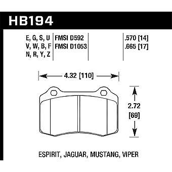 Hawk Performance HB194N.570 HP Plus