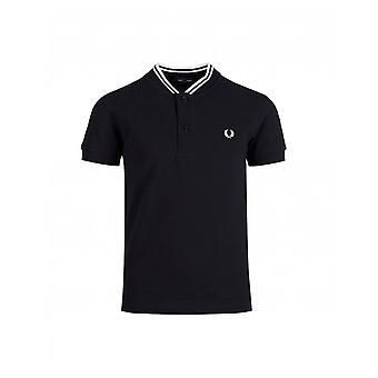 Fred Perry Kids Fred Perry Bomber Collar Pique Polo Shirt