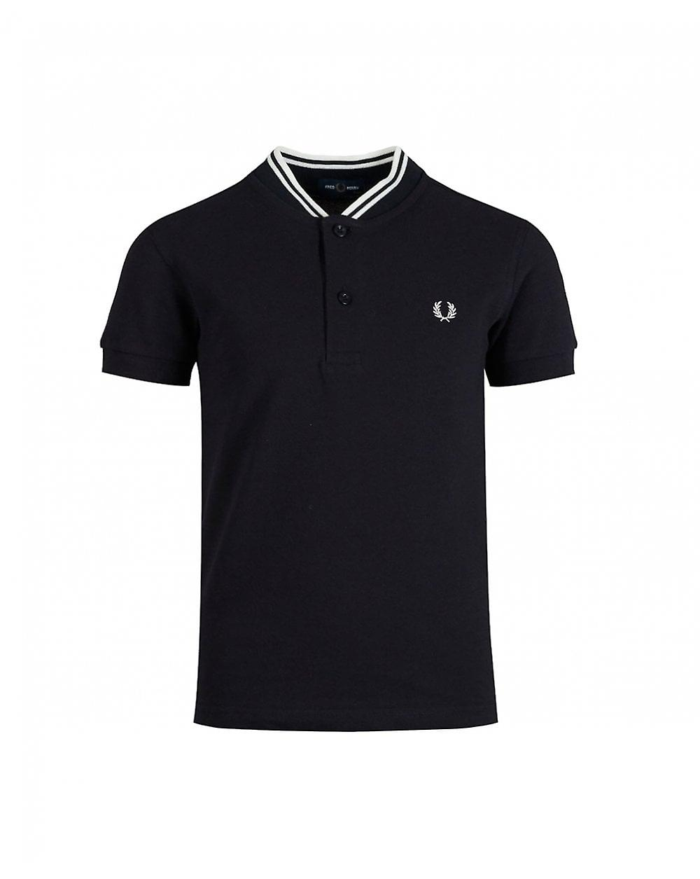 Frouge Perry Enfants Frouge Perry Bomber Collar Pique Polo Shirt