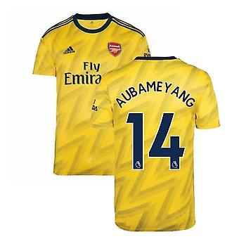 2019-2020 Arsenal Adidas Auswärts Fußball Trikot (AUBAMEYANG 14)