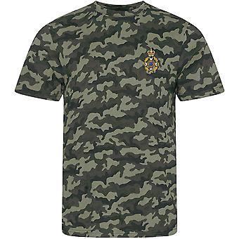 Royal Army Chaplains Department-Christian-gelicentieerd Britse leger geborduurd camouflage print T-shirt