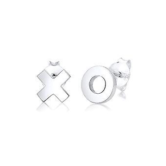 Elli Silver Women's Pin Earrings 311542117