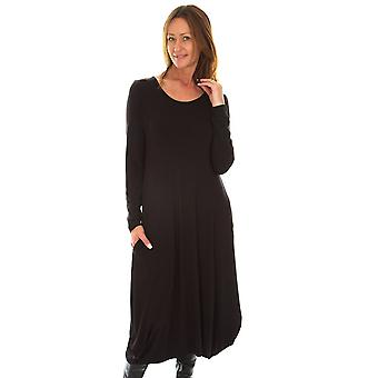 Capri Schwarzes Kleid SLL02
