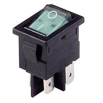 Arcolectric H 8553 VB NAM Rocker Switch, Illuminated Neon lamp 250 V, 10 A