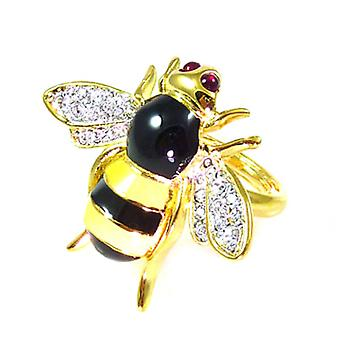 Kenneth Jay Lane Bee Bug Ring