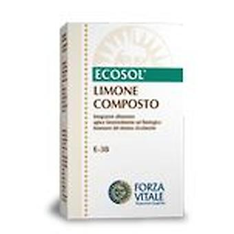 Forza Vitale Compost Limone (Iron) Metal spagyrical 10Ml.