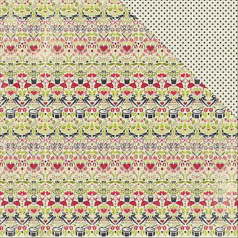 Classic Christmas Double-Sided Cardstock 12