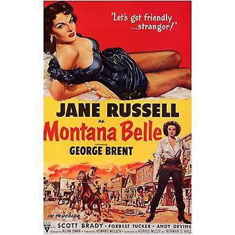 Montana Belle Movie Poster (11 x 17)