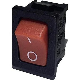Toggle switch 250 Vac 6 A 1 x Off/On SCI R13-66A-02 latch 1 pc(s)