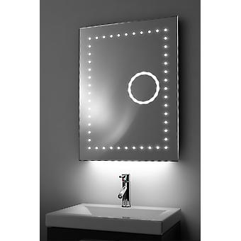 Magnification Mirror With RGB Under Lighting, Demist & Sensor k99rgb