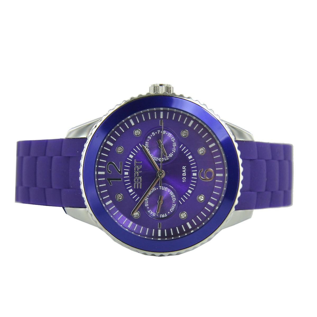 ESPRIT ladies watch Marin 68 speed purple ES105332006