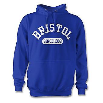 Bristol Rovers 1883 Established Football Hoodie