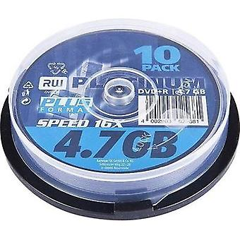 Blank DVD+R 4.7 GB Platinum 102568 10 pc(s) Spindle