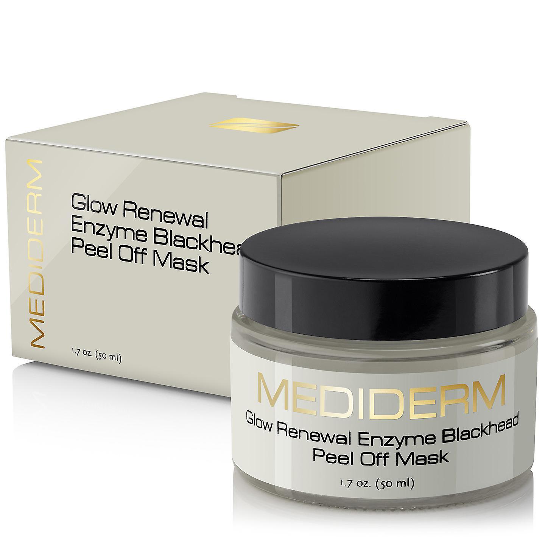 MediDerm beste Glow Erneuerung Innovative Mitesser Enzym Peel-off Maske, 1,7 oz