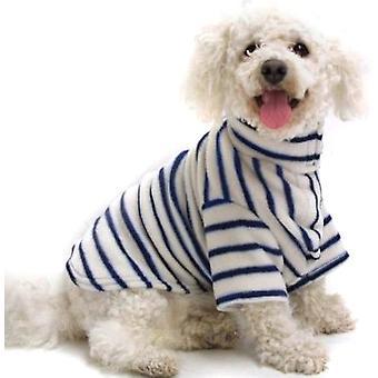 Cosi Fleece Coat Blue Stripe 60cm (24