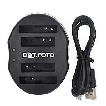 Dot.Foto Canon NB-5L Dual USB Battery Charger