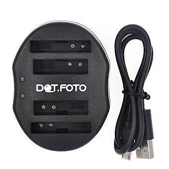 Dot.Foto Canon NB - 5L Dual USB carregador de bateria