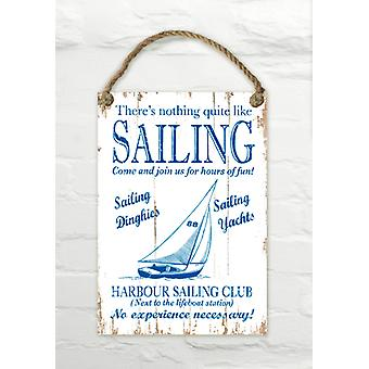 Martin Wiscombe Sailing Decorative Wall Sign