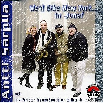 Antti Sarpila - vi havde ligesom New York? i juni [CD] USA import