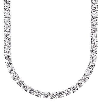 Sterling 925 Silver CZ bling ICED OUT chaîne, 5mm - 90cm